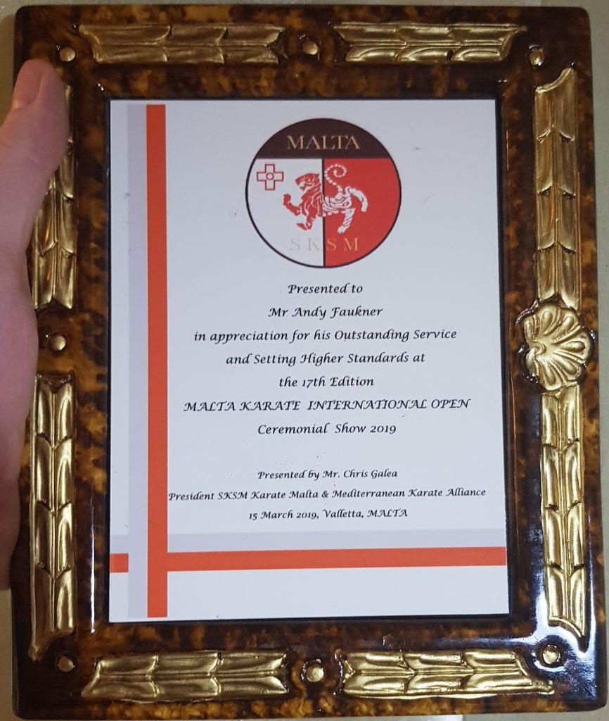 Malta open Karate Championship