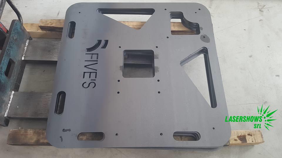 Laser Cut Steel Plates
